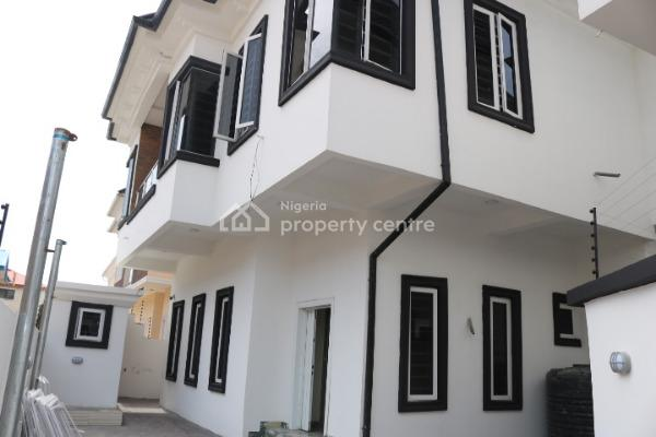 Brand New and Superbly Finished 5 Bedroom Fully Detached House with Boys Quarters, Canal West Estate, Osapa, Lekki, Lagos, Detached Duplex for Sale