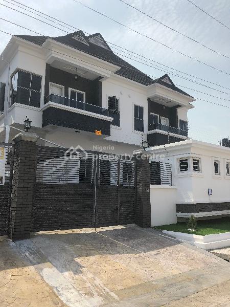 Newly Built 4 Bedroom Semi Detached Duplex with B.q, By Lekki 2nd Toll Gate, Lekki, Lagos, Semi-detached Duplex for Sale