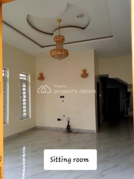 Brand New 4 Bedroom Semi Detached Duplex and 1 Bq, Osapa, Lekki, Lagos, Semi-detached Duplex for Sale