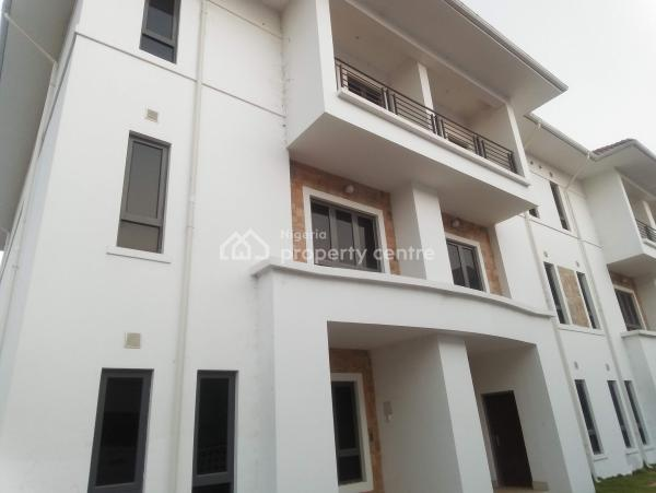 a Luxuriously Finished and Furnished Duplex,  Within a Serviced Compound Is Up for Sale, Guzape District, Abuja, Terraced Duplex for Sale