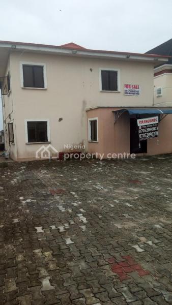 a Unit 4 Bedroom Detached House with a Room Bq, Beunavista Estate,  By Chevron Toll-gate, Lafiaji, Lekki, Lagos, Detached Duplex for Sale