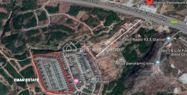 4 Bedroom Terrace Duplex with 1 Room Bq, Katampe Phase 2, Katampe Extension, Katampe, Abuja, Terraced Duplex for Sale