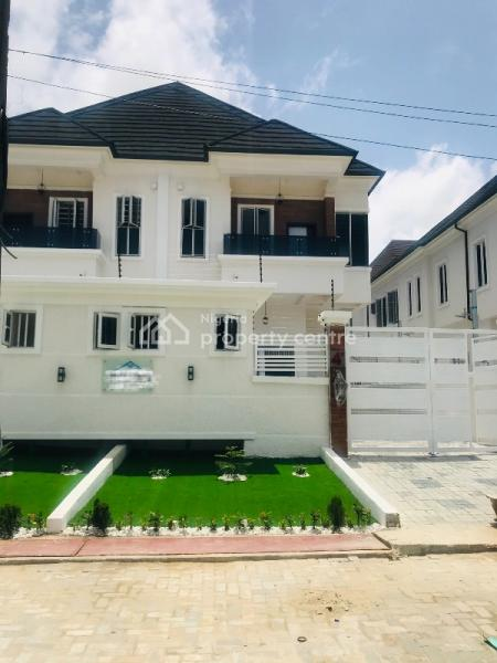 Fantastically Finished 4 Bedroom Luxury Semi  Detached Duplex with a Domestic Room, Chevron Drive, Chevy View Estate, Lekki, Lagos, Semi-detached Duplex for Sale