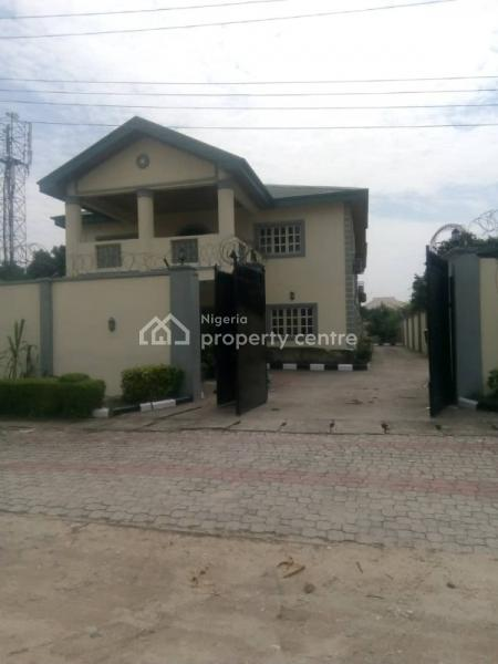 Solid Structured 6 Bedroom Fully Detached House with 2 Room Boys Quarters Sitting on a Full Plot of Land, Thomas Estate, Ajah, Lagos, Detached Duplex for Sale
