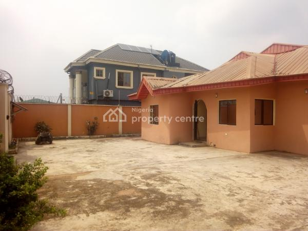 Five Bedroom Bungalow with Two Bedroom Boys Quarters, Igando, Ikotun, Lagos, Detached Bungalow for Sale