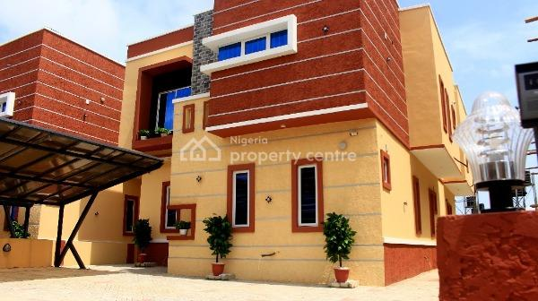 Newly Built 5 Bedroom Fully Detached Duplex with Bq, Orchid,chevron Drive, Lekki, Lagos, Detached Duplex for Sale