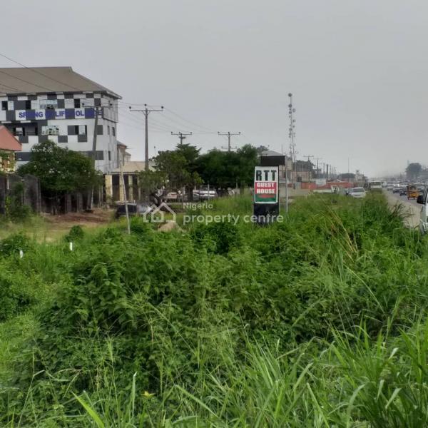Land Measuring 2239sqm (3 and Half Plots), Facing The Lekki Express Road, Lakowe, Ibeju Lekki, Lagos, Commercial Land for Sale