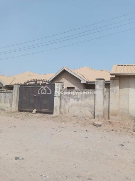 4 Units of 2 Bedroom Terrace with a Room Bq Each, Lugbe District, Abuja, Terraced Bungalow for Sale