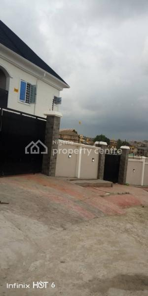 New Standard Block of 4 Flat with Bq, Estate College Road, Ogba, Ikeja, Lagos, Block of Flats for Sale