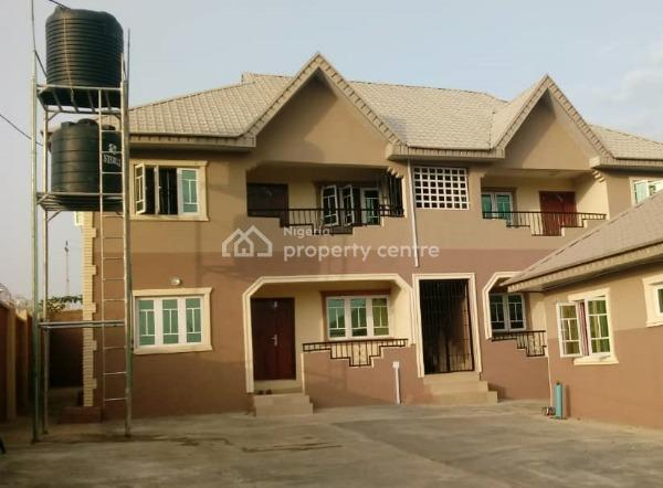 4 Flat of 2 Bedroom with Self Contains, Tella Avenue, Akobo, Ibadan, Oyo, Block of Flats for Sale