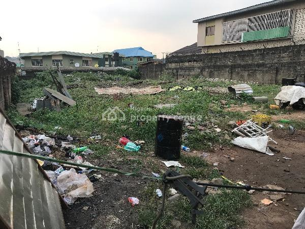 Land with Existing Building, Ajayi Road, Ogba, Ikeja, Lagos, Mixed-use Land for Sale