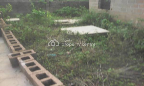 Uncompleted 4 Bedroom Bungalow, Adukanle Area, Nihort Idishin, Ibadan, Oyo, Detached Bungalow for Sale