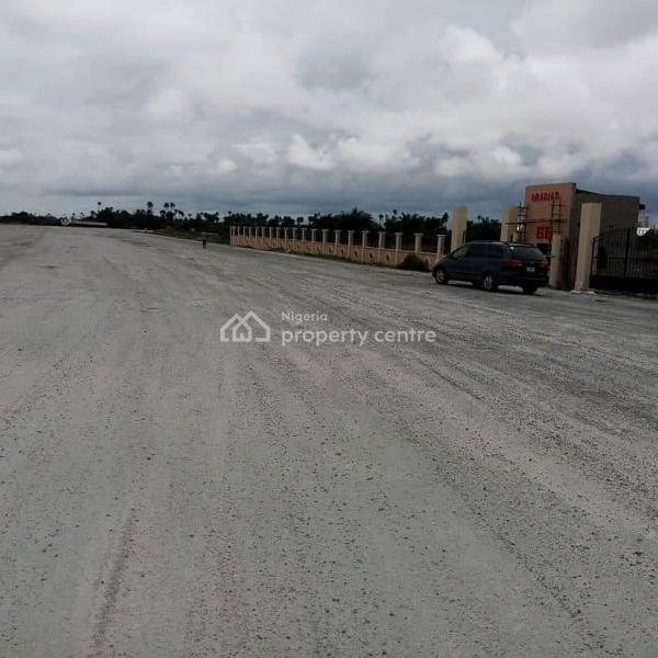 Commercial Plots of Land with C of O at Gracias Commercial, Behind Dangote Refinery, Okunraiye, Ibeju Lekki, Lagos, Commercial Land for Sale