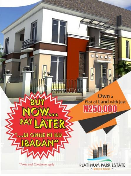 with Just 250k Deposit You Can Own a Plot of C of O Land in Ibadan, Moniya, Ibadan, Oyo, Mixed-use Land for Sale