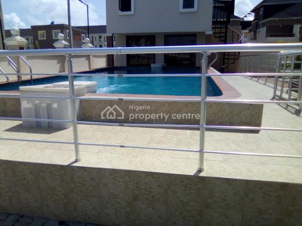 Amazingly Built 4 Bedroom Terrace  Service Apartment with a Bq and a General Swimming Pool, Ikate Elegushi, Lekki, Lagos, Terraced Duplex for Rent
