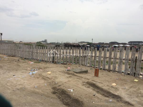 Ocean Front Land Measuring 40,000sqm with Substantial Setback, Ikate Elegushi, Lekki, Lagos, Mixed-use Land for Sale