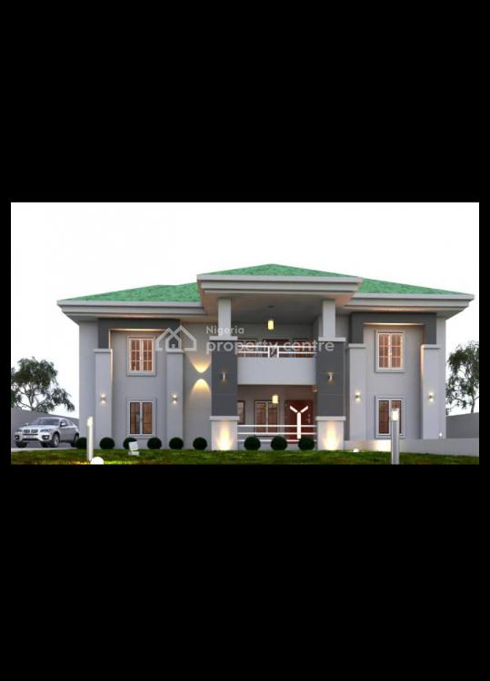 600sqm Plots for a 4 Bedroom Duplex + Bq, Airport Road, Lugbe District, Abuja, Residential Land for Sale
