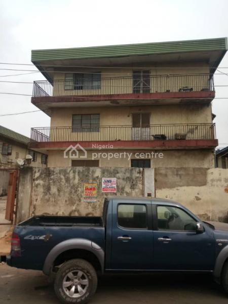 Block of 6 (nos) 3 Bedroom Flat on a Full Plot of Land, Off Haruna Street, Off College Road, Ifako, Agege, Lagos, Block of Flats for Sale