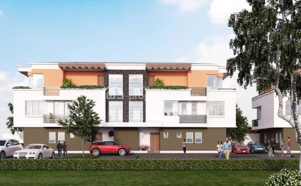 Luxury 4 Bedroom Home (off Plan), Richmond Gate Estate, Ikate Elegushi, Lekki, Lagos, Semi-detached Duplex for Sale