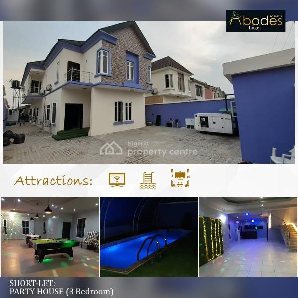 The Ultimately Furnished Party House with Swimming Pool, Off Freedom Way, Lekki Phase 1, Lekki, Lagos, Detached Duplex Short Let