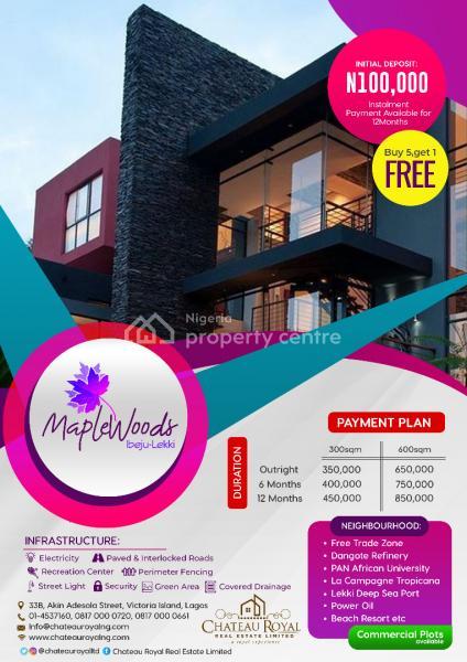 Maplewoods Ibeju Lekki, Igbogun Road, Akodo Ise, Ibeju Lekki, Lagos, Mixed-use Land for Sale