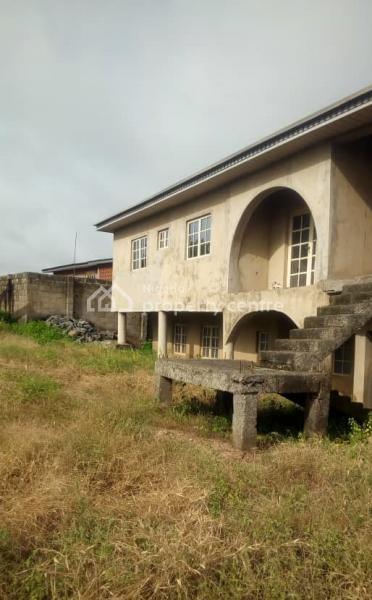 3 Bedroom 4 Flats & Uncompleted 3 Bedroom Duplex Fenced, Akala Express, Ibadan, Oyo, Block of Flats for Sale