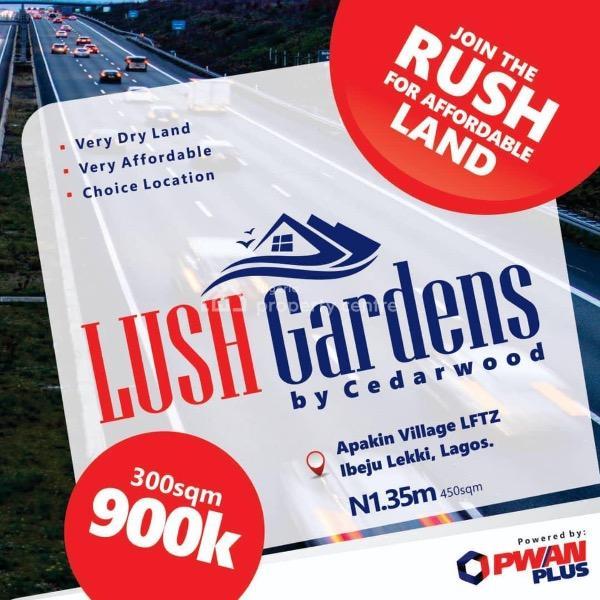 Land, Cedarwood Vista, Along Ode Road, Lekki Free Trade Zone, Folu Ise, Ibeju Lekki, Lagos, Mixed-use Land for Sale