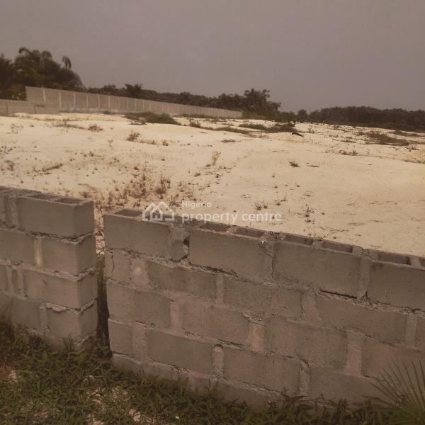 Two Plots with Raft Foundation, Inside Orange Ville Estate of Landweys Investment, Ogombo, Ajah, Lagos, Residential Land for Sale