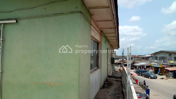 Strategically Located 4 Units of 3 Bedroom House with 10 Shops on 720sqm, Ogba, Ikeja, Lagos, Block of Flats for Sale