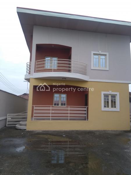 3bed Room Duplex with Self Compound, Goodness Estate Oke Ira Nla Ado Road Ajah, Oke Ira, Ajah, Lagos, Detached Duplex for Rent