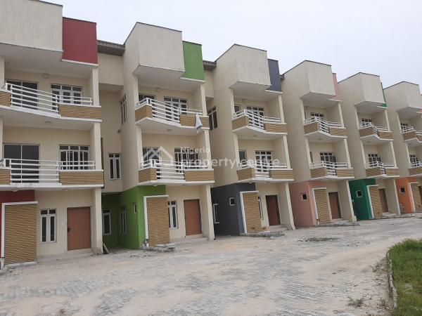 Luxury 4bedroom Terrace Duplex, Ikate Elegushi, Lekki, Lagos, Terraced Duplex for Sale