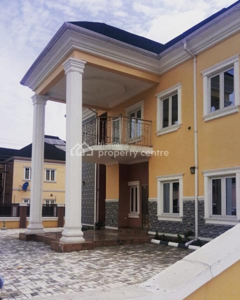 Executive 4 Bedroom Detached Duplex, Naf Base Harmony Estate, Eliozu, Port Harcourt, Rivers, Detached Duplex for Rent