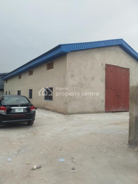 Warehouse, Off Pipe Line Bus Stop Isheri Egbeda Road, Egbeda, Alimosho, Lagos, Warehouse for Rent