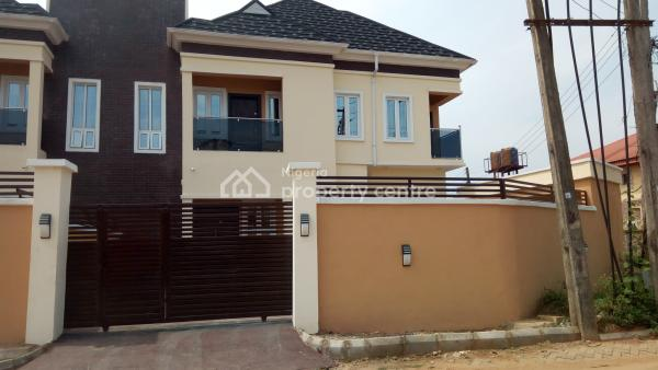 Built to Taste and Stunningly Finished (4) Bedroom Duplex with a Room Boys Quarters, Gra, Isheri North, Lagos, Semi-detached Duplex for Sale