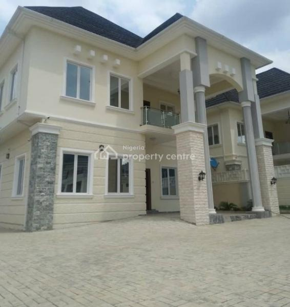 an Exquisite 5 Bedroom Semi Detached Duplex, with One Bed Room Guest House and 2 Rooms Bq, Katampe Extension, Katampe, Abuja, Semi-detached Duplex for Sale