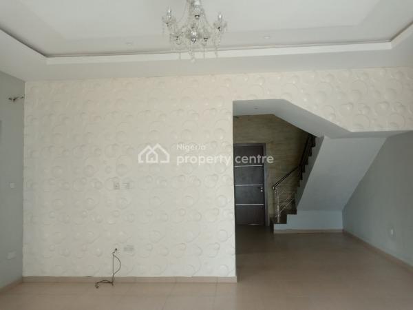 Brand New 4 Bedroom Duplex with a Room Bq, Abraham Eletu Close, Off Shoprite Road, Osapa, Lekki, Lagos, Semi-detached Duplex for Rent