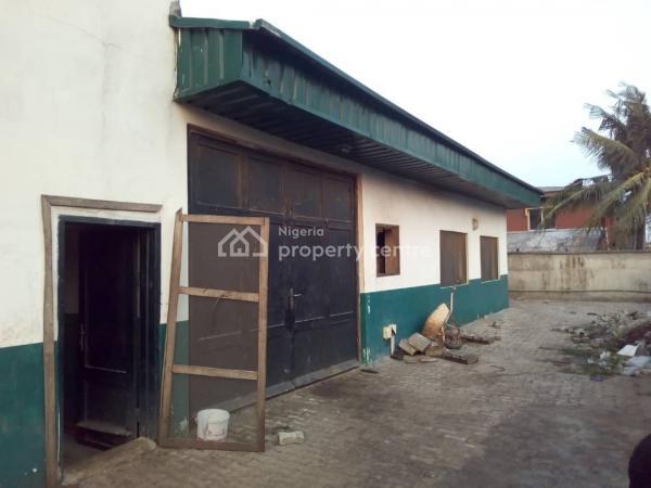 Very Prime Commercial Property with Mini Warehouse, Ifelodun Street, By Orisunbare Round About, Orisunbare, Alimosho, Lagos, Warehouse for Sale