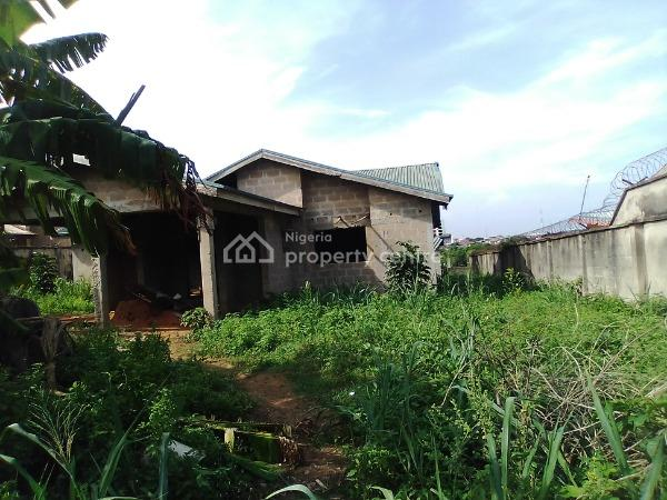 5 Bedroom Detached Uncompleted Bungalow + 3 Room Bq with C of O, Gra, Ikorodu, Lagos, Detached Bungalow for Sale