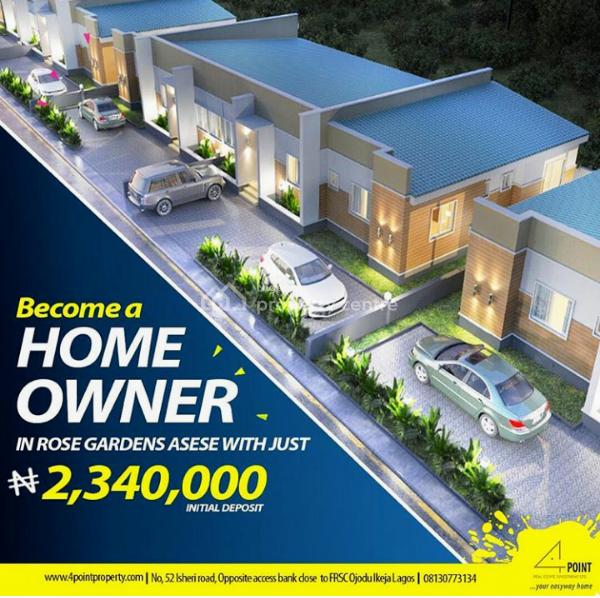 3 Bedroom Bungalow (all En Suite) at Rose Gardens Estate, Christ Embassy Road, Asese, Ibafo, Ogun, House for Sale