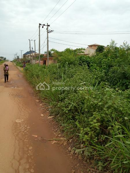 a Plot of Land Measuring 60 By 100 Facing Main Road, Oke Badan Estate, Akobo, Ibadan, Oyo, Mixed-use Land for Sale