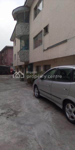 Spacious 3 Bedroom Flat with Living Room Tiled, All Other Rooms with Rubber Tiles and Terrazzo, Fola Agoro, Yaba, Lagos, Flat for Rent