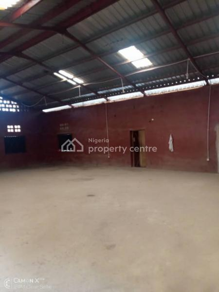 Warehouse on 825sqm Suitable for Factory Or Storage, Ait Road, Alagbado, Ijaiye, Lagos, Warehouse for Sale