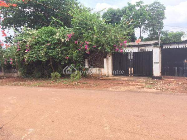 1600sqm Land with Bungalows, Opposite Akalaka House, Chime Avenue, New Haven, Enugu, Enugu, Commercial Property for Sale