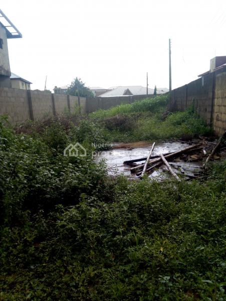 Half Plot of Corner Piece Land, Alagbole, Ifo, Ogun, Residential Land for Sale
