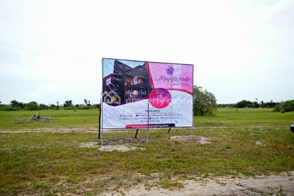 Newly Opened Very Affordable Estate in Ibeju-lekki: Maplewoods Estate, 2 Minutes From The La Campaign Tropicana Beach Resort, Igbogun Town, Folu Ise, Ibeju Lekki, Lagos, Mixed-use Land for Sale