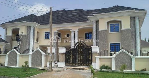 New 7 Bedroom Detached Duplex with Guest Chalet, Gwarinpa, Abuja, Detached Duplex for Sale