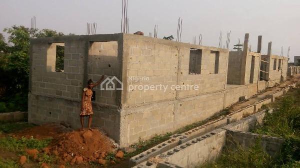 an Off Plan Block of Flat 2 Units of 2 Bedrooms Flats, Gberigbe, Ikorodu, Lagos, Block of Flats for Sale