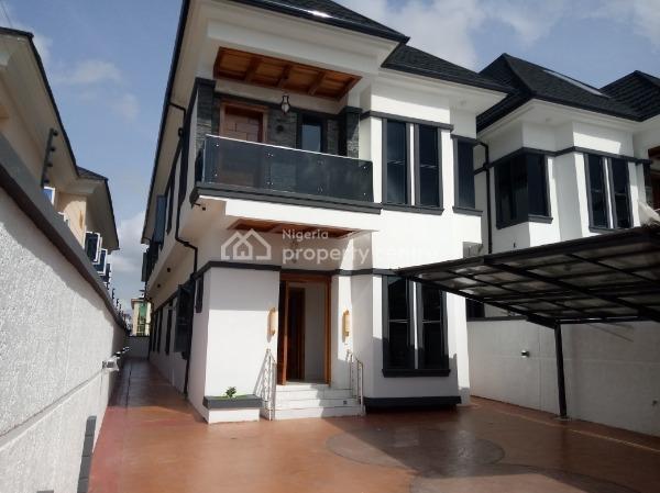 5 Bedroom Detached Duplex with a Room Bq, Kazeem Eletu, Osapa, Lekki, Lagos, Detached Duplex for Sale