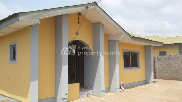 a Three Bedroom Bungalow with Space for Building a Mini Bq Behind. Fully Fenced with Bore Hole Water, Electricity and All Services, Opic Estate, Agbara., Agbara, Ogun, Detached Bungalow for Sale