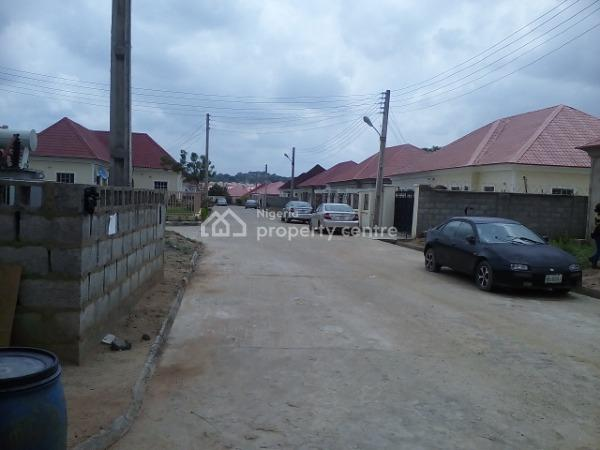 2 Bedroom Semi Detached Bungalow for Sale, Voice of Nigeria Junction, Along Trademore Estate Road, Lugbe District, Abuja, Semi-detached Bungalow for Sale